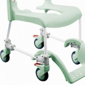 Etac Shower/Toilet Chair, 2 Lockable Castors