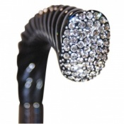 Evening Crutch Cane with Swarovski Crystals