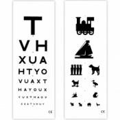 Eye Test Chart 3 Metre Distance