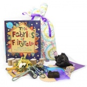 Fabrics of FairyTale Sensory Toy Story Book