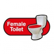Find Signage Dementia Female Toilet Sign