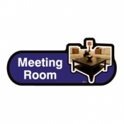 Find Signage Dementia Meeting Room Sign