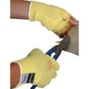 Fingerless Kevlar Standard Cut Resistant Gloves