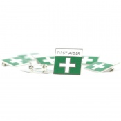First Aid Enamelled Badges (Pack of 10)