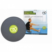 Fitness-Mad 40cm Adjustable Wobble Board