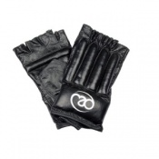 Fitness-Mad Leather Fingerless Bag Glove