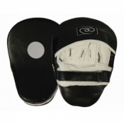Fitness-Mad Curved Leather Hook & Jab Pads