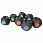 Fitness-Mad Double Grip Medicine Ball