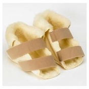 Fleece Pressure Relief Open Slippers