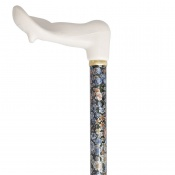 Right-Handed Adjustable Autumn Gold Orthopaedic Walking Cane