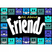 All About Friends Discussion Cards