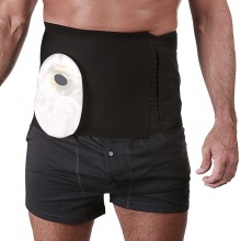 Fulcionel Hole Cut Ostomy and Hernia Support Belt (20cm Depth)