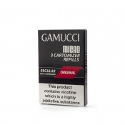 Gamucci Premium Tobacco Regular E-Liquid Refill Cartridges