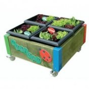 Nursery 4 Planter Garden Flower Bed Trough