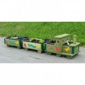 Garden Train Flower Bed Planter Trough