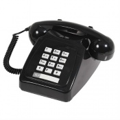 Geemarc Park Lane Colour Contrast Corded Telephone with Adjustable Volume