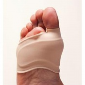 GelSmart S-Gel Bunion Relief Sleeve with Gel Metatarsal Pad