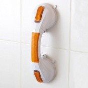 Grab Bar with Suction Cups