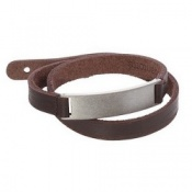 Colantotte GRANGE Leather Magnetic Bracelet