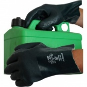 Green Double Dip Chemical PVC 11'' Gauntlet Gloves