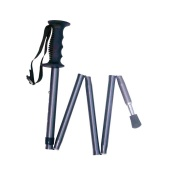 Grey Folding Hiking Pole