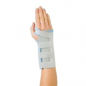 Grey/Blue Basic Wrist Brace