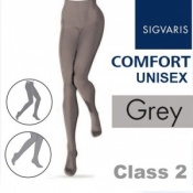 Sigvaris Unisex Comfort Class 2 (RAL) Grey Compression Tights