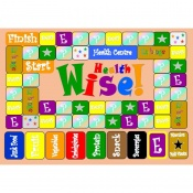 Health Wise Educational Board Game