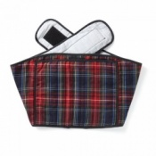 Hotties Heather Tartan Back Wrap
