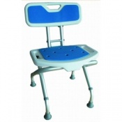 Herdegen Folding Shower Stool With Back