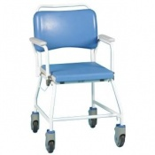 Homecraft Atlantic Commode Shower Chair without Footrests