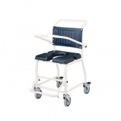 Homecraft Gull Wing Attendant Commode and Shower Chair