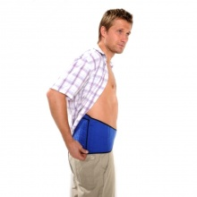 Hotties Blue Back Wrap