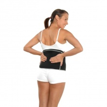 Hotties Black Sports Back Wrap