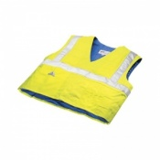 Techniche HyperKewl Evaporative Cooling Traffic Safety Vest