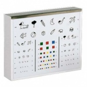 Illuminated Eye Test Chart Child