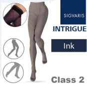 Sigvaris Intrigue Class 2 Ink Compression Tights