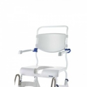 Invacare Shower Commode Chairs Plastic Backrest