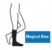 Juzo Attractive Below Knee 18-21mmHg Magical Blue Compression Stocking