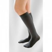 Juzo Attractive Below Knee 18-21mmHg Poppy Seed Compression Stocking
