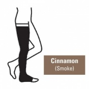 Juzo Attractive Thigh 23-32mmHg Cinnamon Compression Stocking with Open Toe
