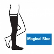 Juzo Attractive Thigh 18-21mmHg Magical Blue Compression Stocking