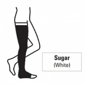 Juzo Attractive Thigh 23-32mmHg Sugar Compression Stocking with Open Toe