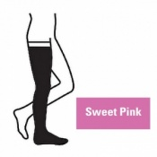 Juzo Attractive Thigh 18-21mmHg Sweet Pink Compression Stocking