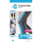 K-Active Kinesiology Tape Pre-Cut Full Knee