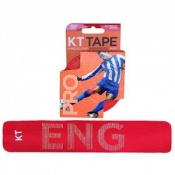 KT Tape Pro Synthetic Kinesiology Therapeutic Tape England Red
