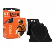 KT Tape Pro Synthetic Kinesiology Therapeutic Tape Jet Black