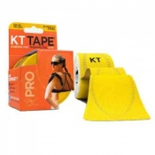 KT Tape Pro Synthetic Kinesiology Therapeutic Tape Solar Yellow