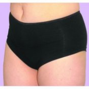 Ladies Shortie Brief With Absorbent Pad