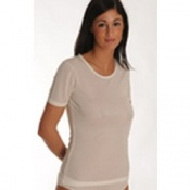 DermaSilk Ladies Short Sleeve Top